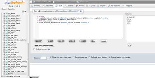 MySQL join query run in SQL pan